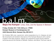 b.a.l.m. Maps the Kemper: Lines, Dots and the Spaces In Between